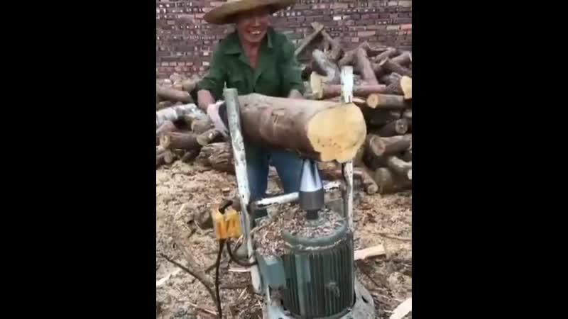 Вместо колки дров
