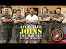 JAY CUTLER JOINS THE MARINES AT CAMP PENDLETON