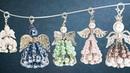 Ideen mit Herz - Perlen-Engel mit Sicherheitsnadeln - Schmuck-Anhänger basteln - Schutzengel - DIY