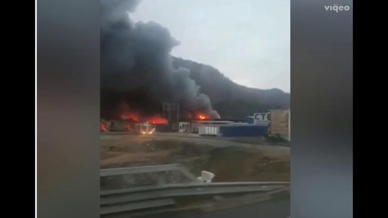 В Сочи потушили большой пожар