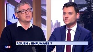 Michel Onfray détruit un député LaREM sur l'incendie à Rouen