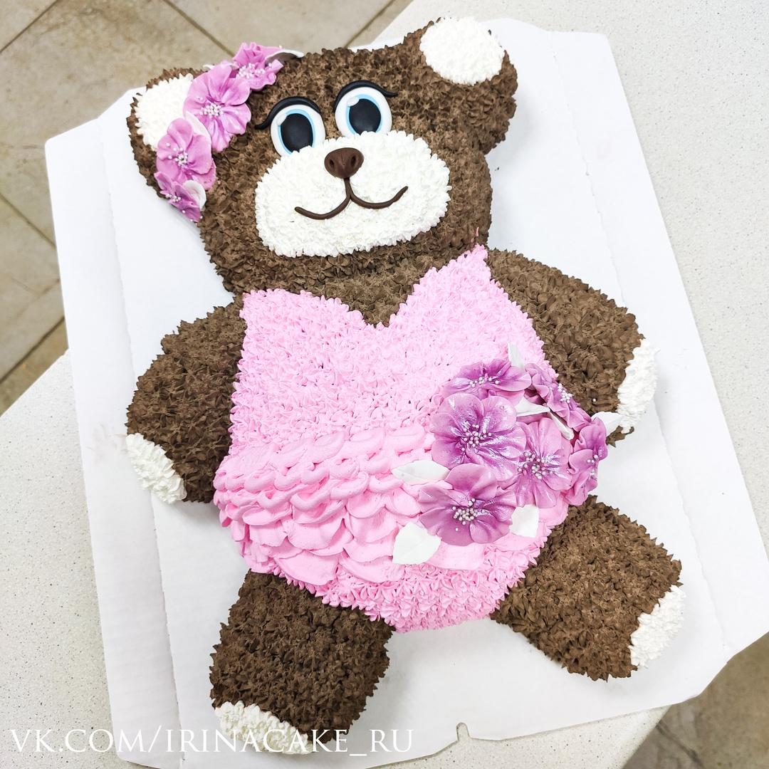 Торт в виде медведя (Арт. 602)