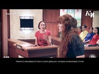 Курская русалочка стала звездой телешоу