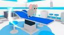 Ухаживаю за питомцами Пингвин слоник мою купаю укладываю спать Развивающий мультик для детей