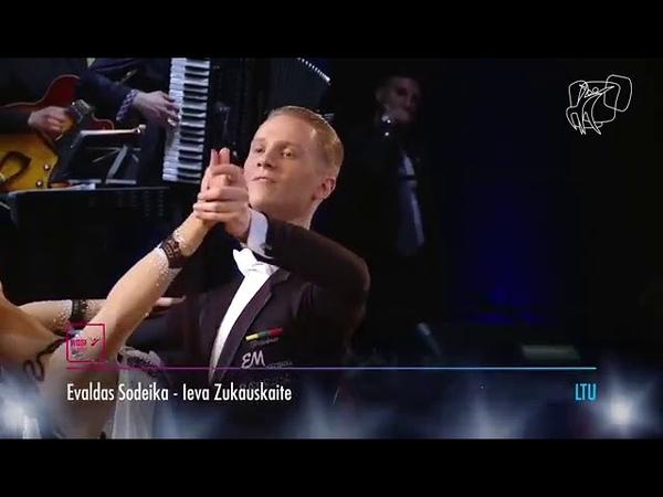 WDSF waltz by Evaldas Sodeika - Ieva Zukauskaite