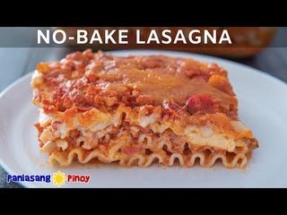 No-Bake Filipino Style Lasagna - Christmas Recipes #1