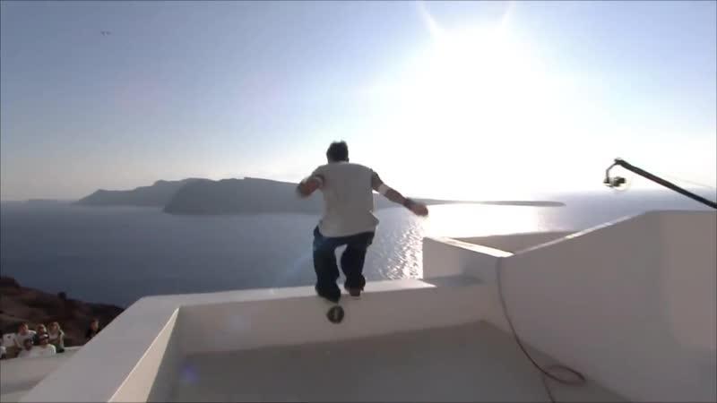 DIMITRIS KYRSANIDIS - RED BULL ART OF MOTION 2015 - SANTORINI, GREECE