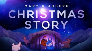 Mary and Joseph Christmas Story - Luke 2 | Sunday School Lesson For Kids | HD |