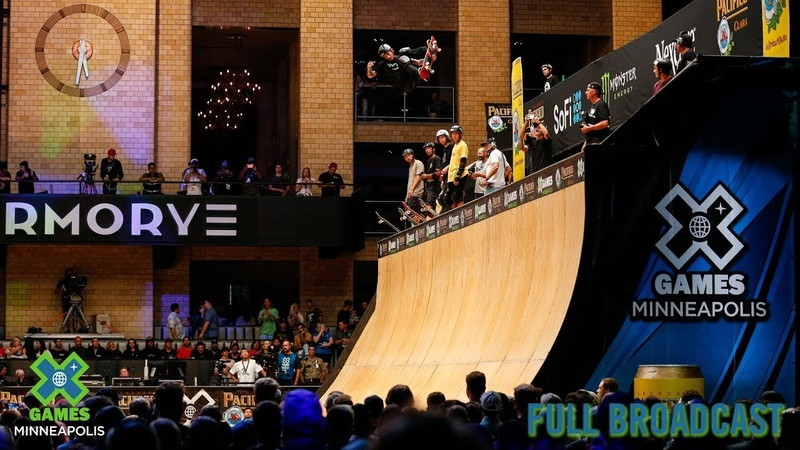 REPLAY: Pacifico Skateboard Vert | X Games Minneapolis 2019