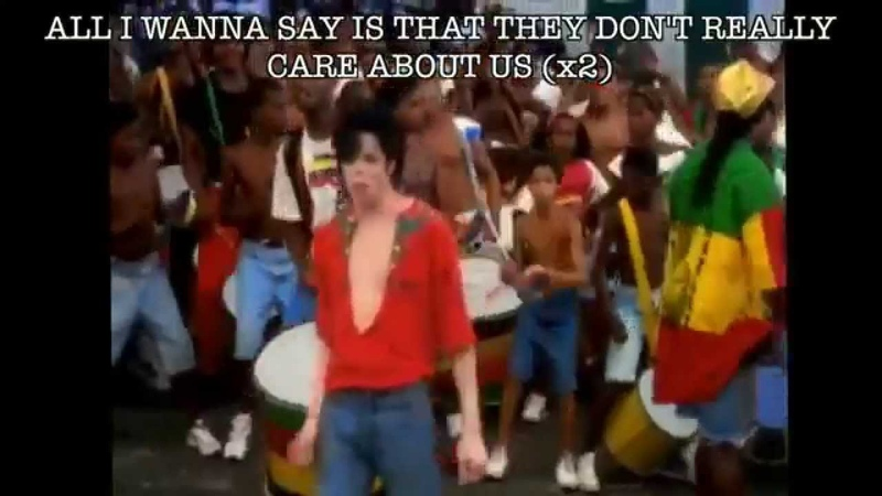 They Dont Care About Us Lyrics - Michael Jackson