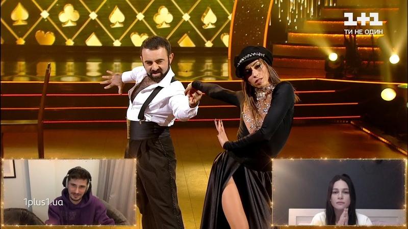 Арам Арзуманян та Тоня Руденко вийшли на паркет замість Позитива та Юлії – Танці з зірками 2020