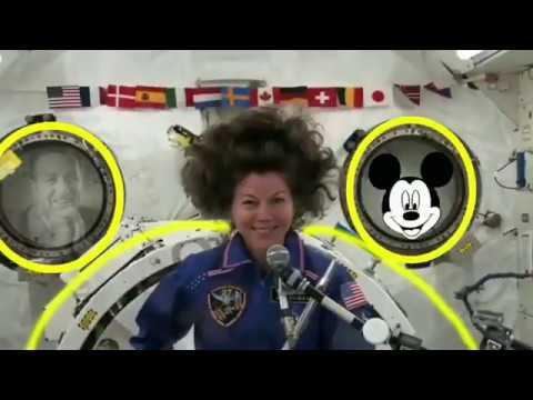 Flache Erde, ISS echtes Bildmaterial ?