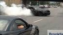 Insane Burnout Mustang Cobra Shelby GT500 🖤