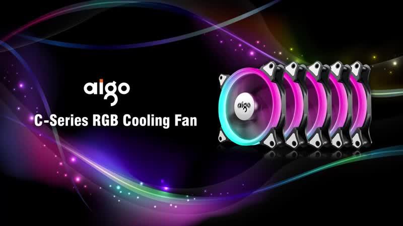 Интернет магазин Aigo C5 5 упак.куллер для процессора корпуса 120 mm RGB