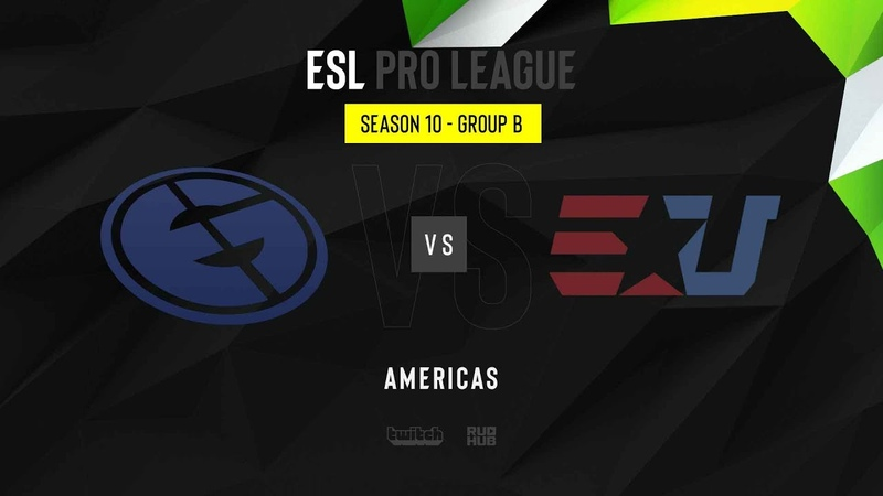 Evil Geniuses vs eUnited ESL Pro League Season 10 NA map3 de dust2 MintGod