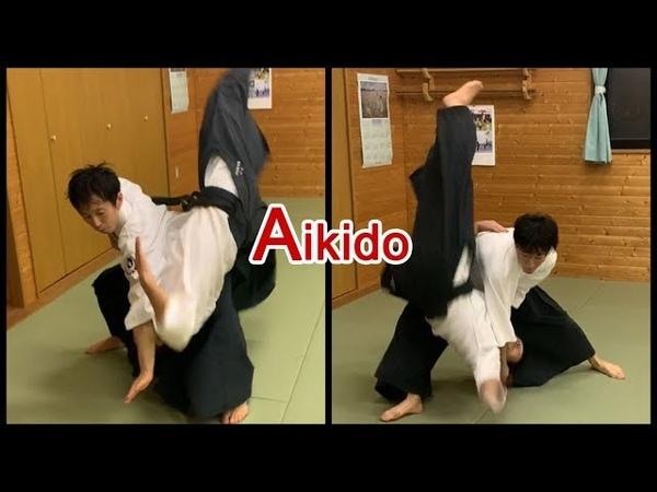 Aikido - Throw each other with Shirakawa Ryuji shihan