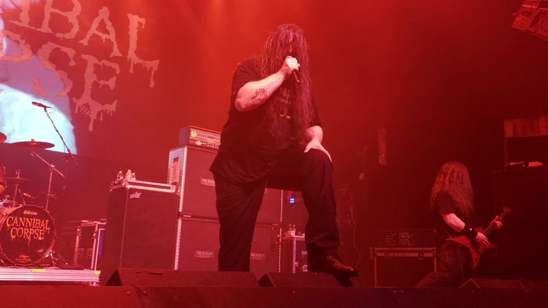 Cannibal Corpse Evisceration Plague Live @Gas Monkey Live Dallas TX