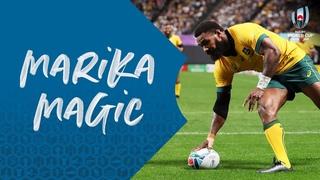 Невероятное выступление игрока сборной Австралии Коройбете на Кубке мира по регби