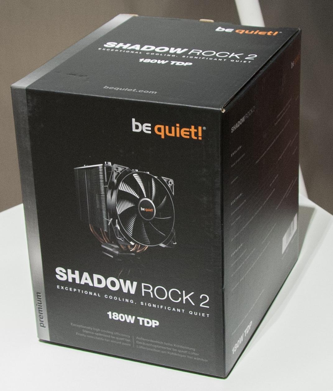 Кулер для CPU - Be Quiet! Shadow Rock 2.