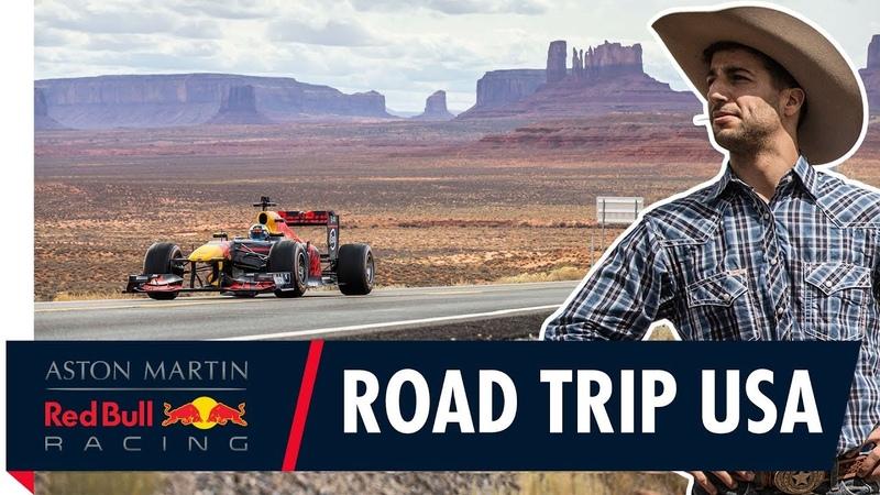 Road Trip USA Daniel Ricciardo takes F1 to San Francisco Monument Valley and Las Vegas