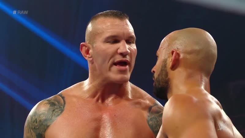 Orton, Ricochet Carrillo vs. O.C.: Raw, 11/11/19
