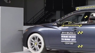Mazda 6 crash test.