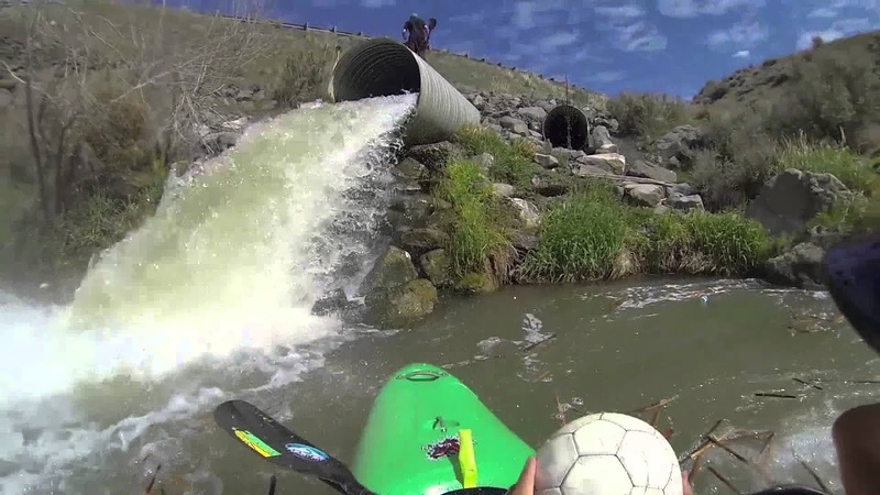 Kayaking Down A Drainage Ditch