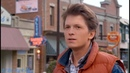 Deepfake Tom Holland as Marty Mcfly Back to the future
