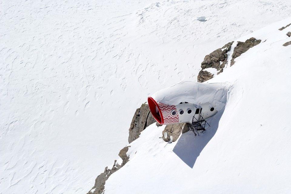 Дома-убежища в Альпах