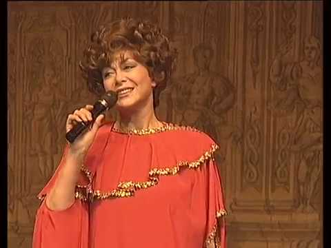 Эдита Пьеха. Фрагмент концерта 40 лет вместе с вами . Декабрь 1997 г.