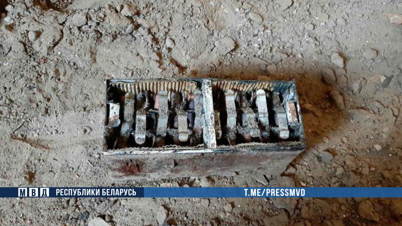В Брестской крепости рабочие обнаружили военный арсенал