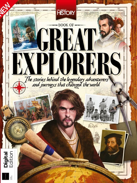 All About History Great Explorers Ed3 2019