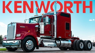IT'S ALIVE AND WELL -  2021 KENWORTH W900L 86 STUDIO SLEEPER - ANDY THE KENWORTH GUY REVIEW