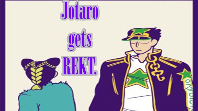 Jotaro Gets rekt COMIC DUB