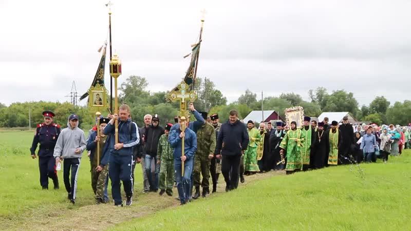Крестный ход к преп Филарету Ичалковскому 11 августа 2019 года