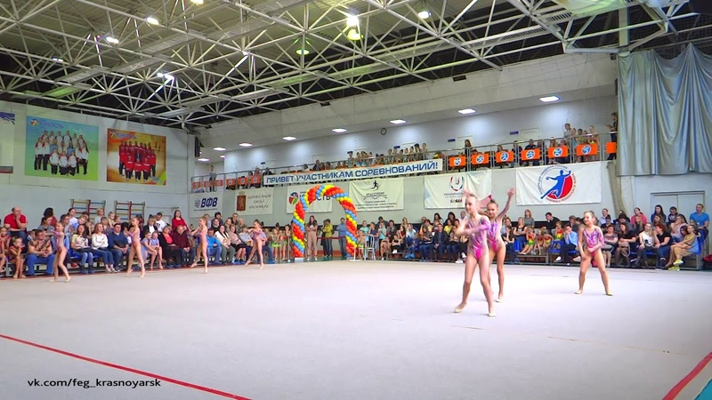 Ариэль 8 10 лет Турнир Апрелинка Эстетическая гимнастика