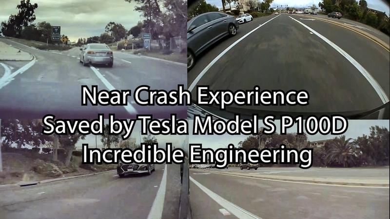 Near Crash Experience Incredible Tesla Engineering Saved my Model S