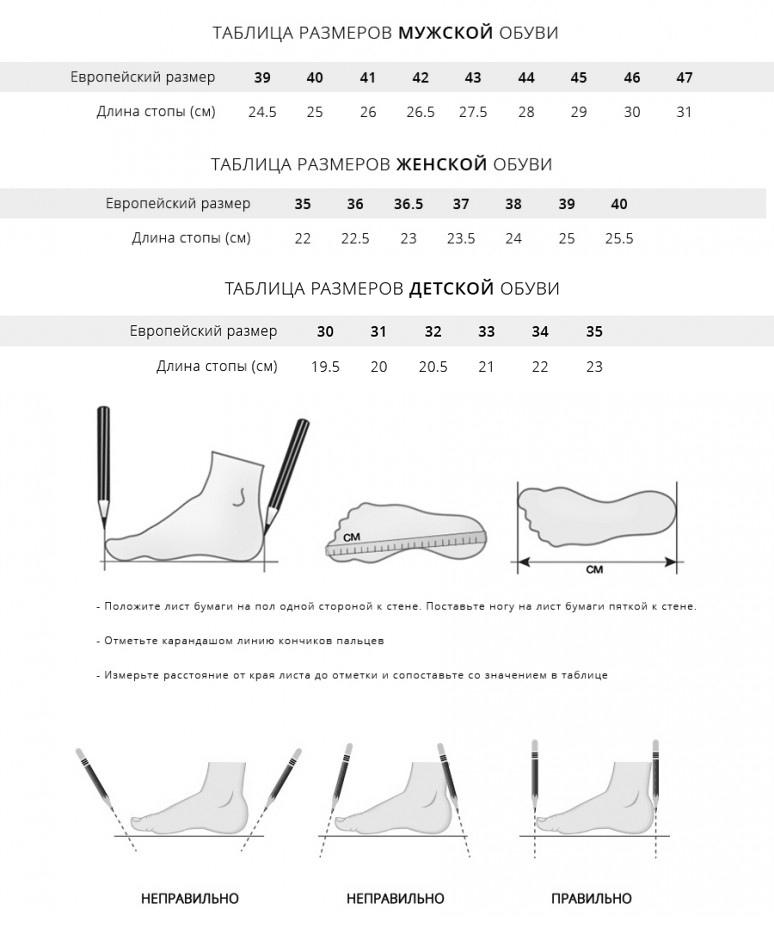 Как правильно выбрать обувь в интернет-магазине?, изображение №1