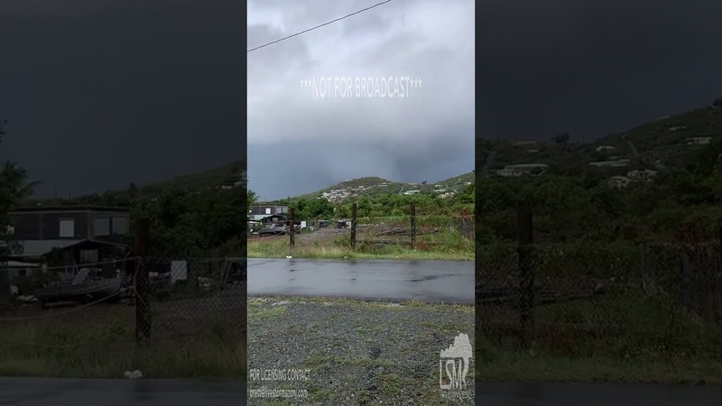 07 25 2019 St Croix USVI WaterSpout from a Distance