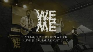 Woe Unto Me - Spiral-Shaped Hopewreck (live @ Brutal Assault 2019) - NEW SONG!!!
