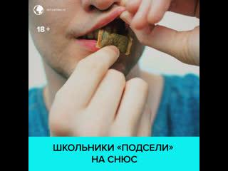 Чем опасен снюс, на который массово подсаживаются школьники  Москва 24