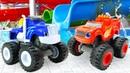 Машинки измультиков Тачки иВспыш ичудо машинки ваквапарке— Видео для детей вбассейне— Сборник