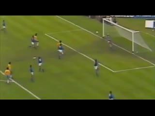 г., Чемпионат мира в Аргентине. Матч за третье место: Бразилия 2:1 Италия, Нелиньо делает счет 1:1 на 64-й минуте.