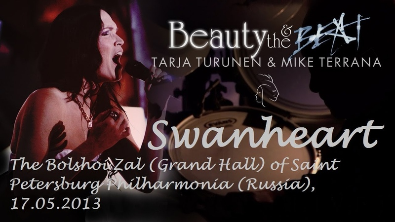 Tarja Turunen and Mike Terrana Swanheart Beauty and the Beat TOUR 2013