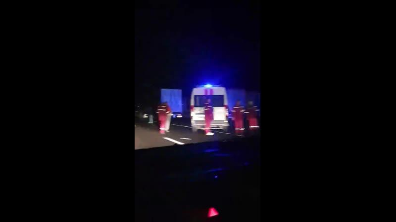 В очереди из фур вблизи границы с Литвой сбили человека - пункт пропуска Привалк