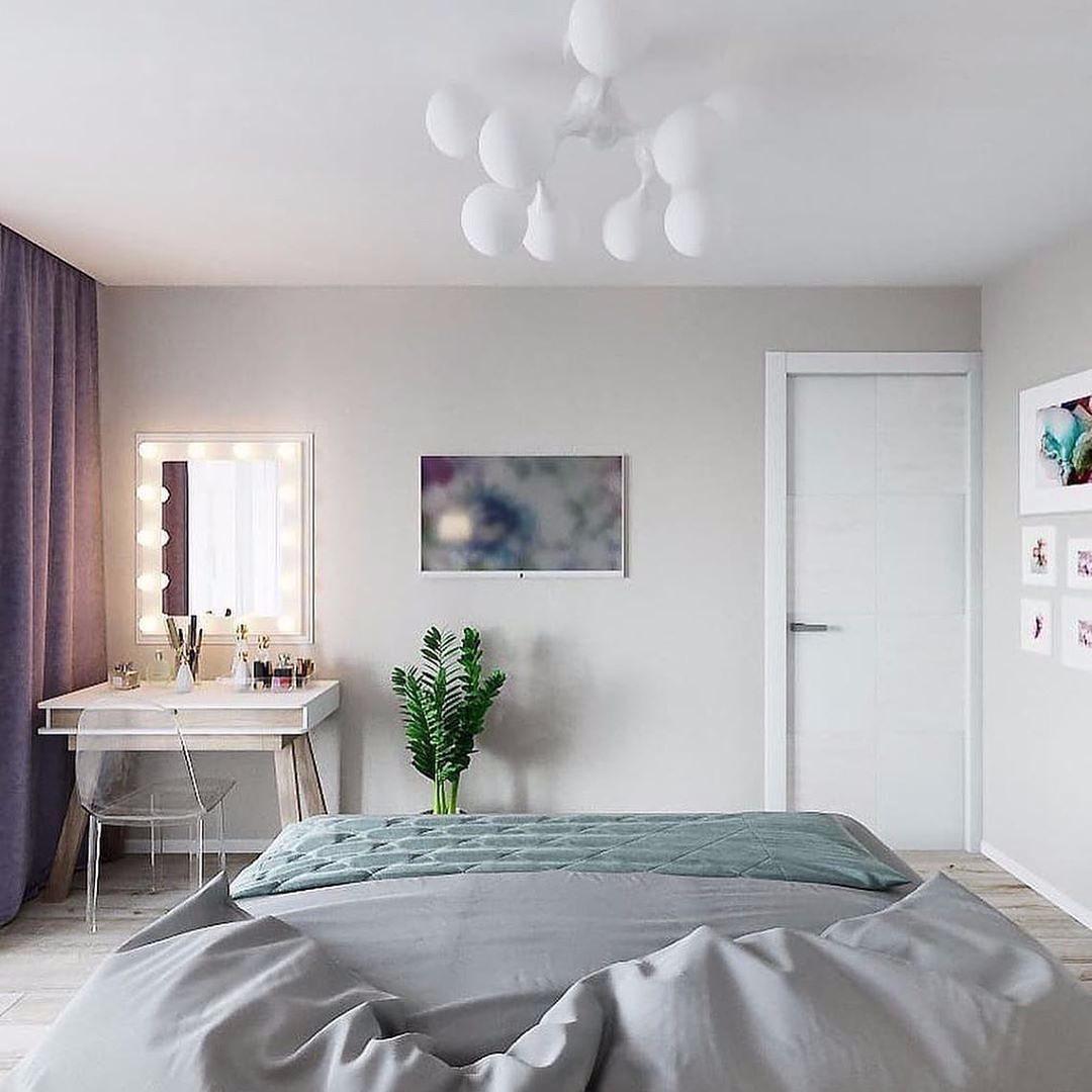 Светло и уютно в квартире.