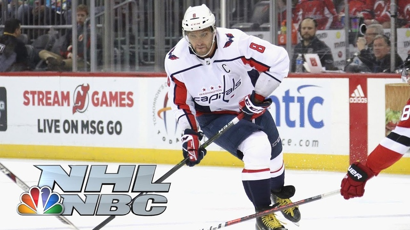Alex Ovechkin scores 700th career goal vs. Devils | NBC Sports