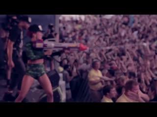 Major Lazer feat. Flux Pavilion - Jah No Partial (Live Video) (ft)