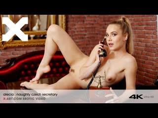 Alecia fox naughty czech secretary   solo masturbation toys vibrator pussy fingering brazzers porn порно мастурбация