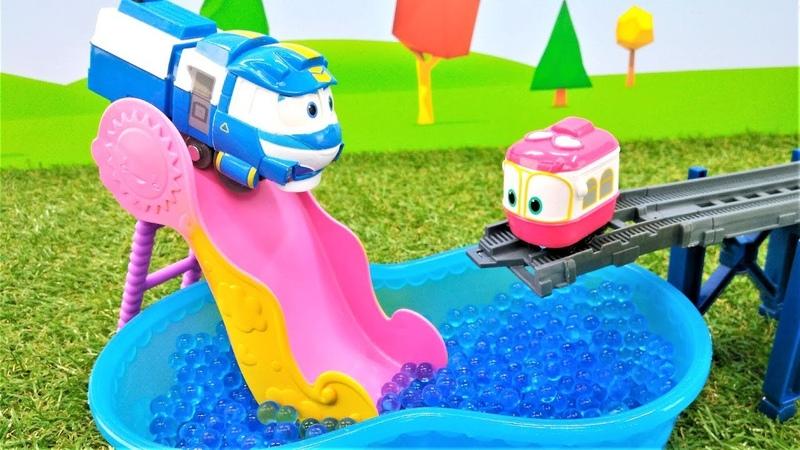 Video e giochi per bambini Il trenino Kay cerca Sally Il piccolo autobus Tayo in italiano